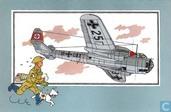 """Strips - Kuifjesbon producten - Chromo's """"Vliegtuigen '39-'45"""" 20"""