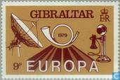 Postzegels - Gibraltar - Europa – Postgeschiedenis