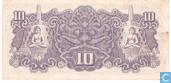 Banknotes - Dai Nippon Teikoku Seihu - Dutch East Indies 10 Roepiah