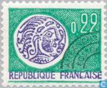 Postage Stamps - France [FRA] - Gallic coin