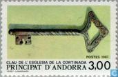 Clé de l'église La Cortinada
