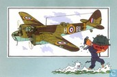 "Comic Books - Kuifjesbon producten - Chromo's ""Vliegtuigen '39-'45"" 22"
