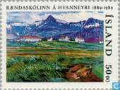 Postage Stamps - Iceland - Agricultural college