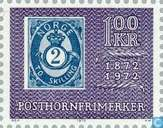 Postage Stamps - Norway - 100 violet