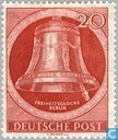 Postage Stamps - Berlin - Bell clapper right
