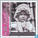 Postage Stamps - Gibraltar - Queen Elizabeth II-75th anniversary