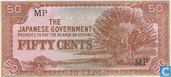 Billets de banque - The Japanese Government - Malaisie 50 Cents