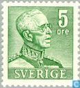 Postzegels - Zweden [SWE] - Gustav V.