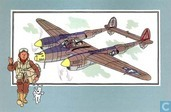"""Strips - Kuifjesbon producten - Chromo's """"Vliegtuigen '39-'45"""" 24"""