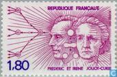 Postage Stamps - France [FRA] - Frédéric and Irène Joliot-Curie