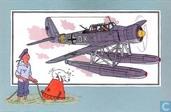 """Bandes dessinées - Kuifjesbon producten - Chromo's """"Vliegtuigen '39-'45"""" 25"""