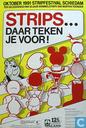 Poster - Comic books - Strips . . . Daar Teken je voor ! (Stripfestival Schiedam)