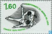 Postage Stamps - France [FRA] - World Championships Judo in Paris