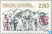 Postage Stamps - Andorra - French - Petanque Cup