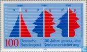 Postage Stamps - Germany, Federal Republic [DEU] - State pension 1889-1989