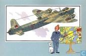 """Strips - Kuifjesbon producten - Chromo's """"Vliegtuigen '39-'45"""" 27"""