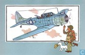 "Comics - Kuifjesbon producten - Chromo's ""Vliegtuigen '39-'45"" 28"
