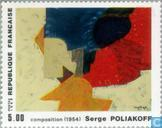 Postage Stamps - France [FRA] - Painting Serge Poliakoff