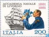 Postzegels - Italië [ITA] - Marine-academie 100 jaar