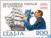 Timbres-poste - Italie [ITA] - Académie navale 100 années