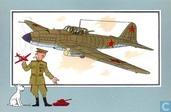 """Strips - Kuifjesbon producten - Chromo's """"Vliegtuigen '39-'45"""" 29"""