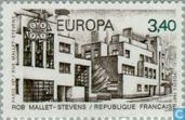 Postage Stamps - France [FRA] - Europe – Modern architecture