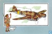 "Comics - Kuifjesbon producten - Chromo's ""Vliegtuigen '39-'45"" 30"