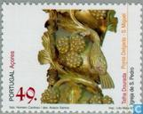 Postage Stamps - Azores - Religious art