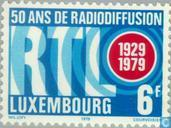Timbres-poste - Luxembourg - Radio Luxembourg 50 années