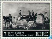 Briefmarken - Irland - Europa – Gemälde