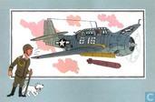 "Comics - Kuifjesbon producten - Chromo's ""Vliegtuigen '39-'45"" 31"