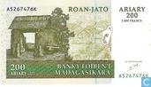 Billets de banque - Banky Foiben´i Madagasikara - Ariary Madagascar 200