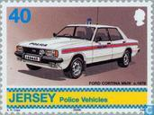 Postage Stamps - Jersey - Police Vehicles