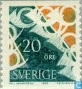 Postage Stamps - Sweden [SWE] - 20 blue / green