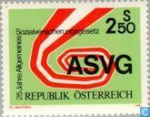 Postage Stamps - Austria [AUT] - ASVG 25 years