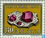 Postage Stamps - Switzerland [CHE] - Fossils and gems