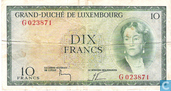 Luxembourg 10 Francs