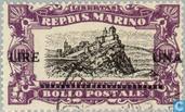 Briefmarken - San Marino - La Rocca