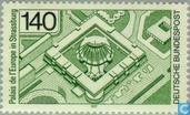 Postzegels - Duitsland, Bondsrepubliek [DEU] - Palais de l' Europe