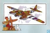 """Strips - Kuifjesbon producten - Chromo's """"Vliegtuigen '39-'45"""" 38"""