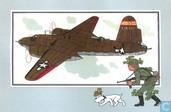 """Bandes dessinées - Kuifjesbon producten - Chromo's """"Vliegtuigen '39-'45"""" 39"""