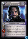 Trading cards - Lotr) Oversized Cards - Aragorn, Defender of Free Peoples