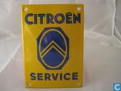 Plaques émaillées - Logo: Citroën - Emaille Reklamebord : Citroen