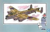"""Strips - Kuifjesbon producten - Chromo's """"Vliegtuigen '39-'45"""" 40"""