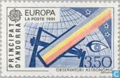 Postage Stamps - Andorra - French - Europe – Aerospace