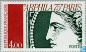 Timbres-poste - France [FRA] - Arphila '75