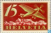 Timbres-poste - Suisse [CHE] - Monoplane