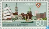 Briefmarken - Deutschland, Bundesrepublik [DEU] - Kiel 1242-1992