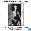 Disques vinyl et CD - Daltrey, Roger - Without your love