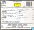 Disques vinyl et CD - Chor und Orchester der Deutschen Oper Berlin - Opernchöre